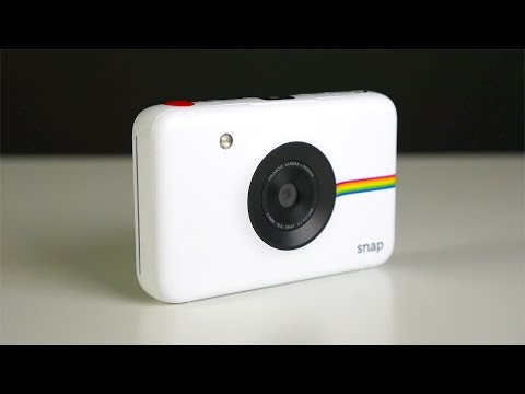 Polarioid Snap Instantaneous Digital Digicam Unboxing and Critique!