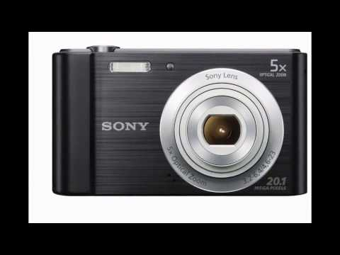 Sony W800 Electronic Digital camera Black Overview 2016
