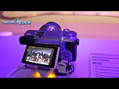 CES 2015 | Sony Mirrorless & DSLR Digital camera Lineup | A7s |  Best ISO 409,600 |  SmartReview.com