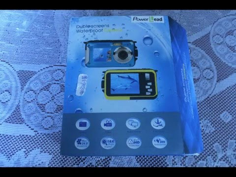 PowerLead Gapo G050 Double Screens Water-resistant Digital Digital camera Evaluate