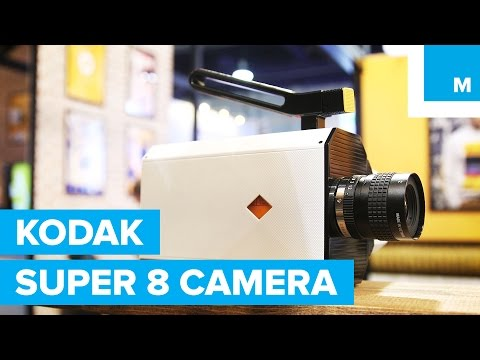 Kodak Tremendous 8 Digital camera Again with Amazing New Capabilities | Mashable CES 2016